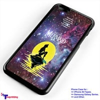 In The Moonlight Ariel The Little Mermaid galaxy - Personalized iPhone 7 Case, iPhone 6/6S Plus, 5 5S SE, 7S Plus, Samsung Galaxy S5 S6 S7 S8 Case, and Other