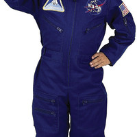 boy's costume: flight suit with cap | small
