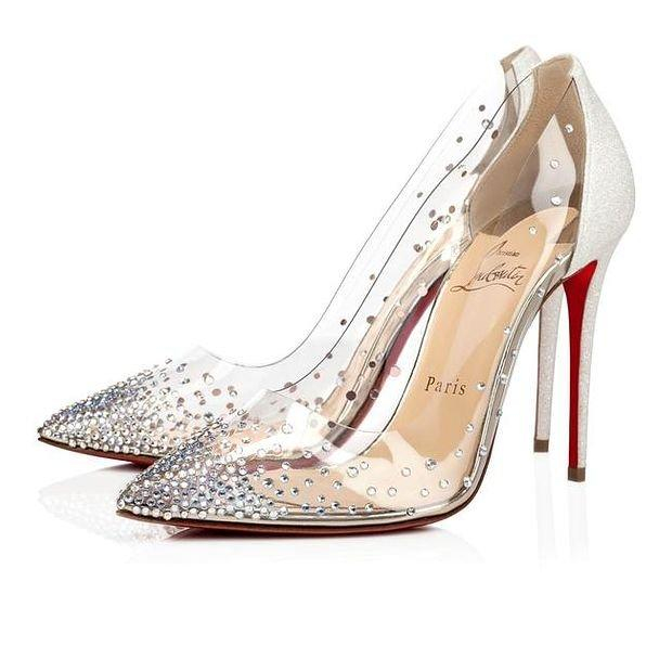 Image of GUUCI/Christian Louboutin New pointed high heels