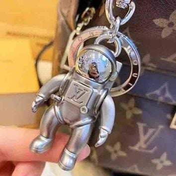 Louis Vuitton LV Fashion New Human Form Women Men High Quality Personality Keychain