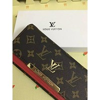 Tagre™ Louis Vuitton Women LEATHER purse Clutch wallets Day-First™