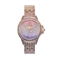 Juicy Couture Stella Bling Rose Gold Tone Stainless Steel Women's Watch (Pink)