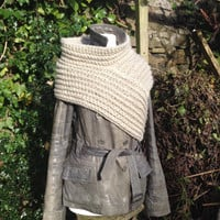 Hand-Made Original, Free-Form Crochet Archer's Sweater - Made To Order -  Medieval/Post Apocalyptic/Cosplay/Fantasy/Industrial/Steampunk