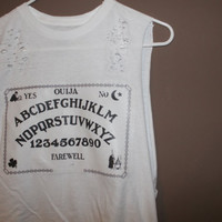 OUIJA BOARD SHIRT one size fits all pastel tumblr grunge hipster