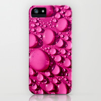 Rain - In the Pink iPhone & iPod Case by Alice Gosling