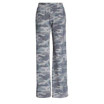 Terra Cozy Brushed Lounge Pant - Camo