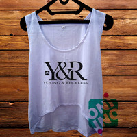 Young and Reckless Crop Tank Women's Cropped Tank Top