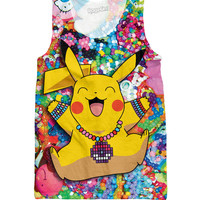 Pikachu in Kandiland Tank Top *Ready to Ship*