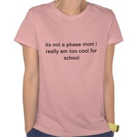 2 cool 4 school tee shirts from Zazzle.com