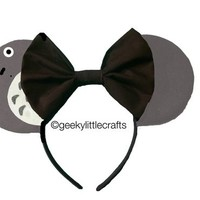 Gray Mouse Ears by Geeky Little Crafts