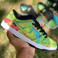 Nike SB dunk thermal imaging low-top autumn and winter sneakers men and women casual sports shoes