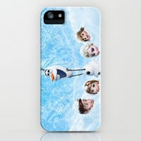 FROZEN OLAF  iPhone & iPod Case by BESTIPHONE5CASESHOP