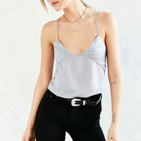 Lucca Couture Satin Cropped Babydoll Cami