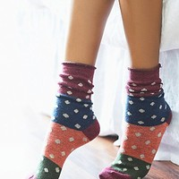 Free People Womens Spotlight Crew Sock