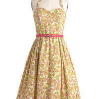 Made in the Shades Dress in Floral Flurry | Mod Retro Vintage Dresses | ModCloth.com