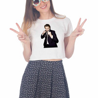 james franco breaking bad For Womens Crop Shirt ***