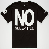 Brooklyn Projects No Sleep Mens T-Shirt Black  In Sizes