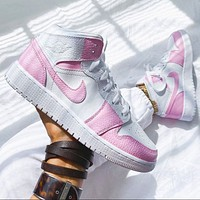 Air Jordan 1 Mid AJ1 Jordan generation high top classic retro casual sports basketball shoes sneakers