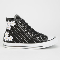 Converse Chuck Taylor All Star Hi Womens Shoes Black/White  In Sizes