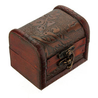 Wooden Jewelry Storage Decorative Organizer Case Box