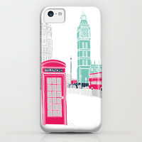 London iPhone & iPod Case by Bluebutton Studio