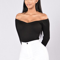 Bold And Young Bodysuit - Black