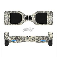 The Hundred Dollar Bill Full-Body Skin Set for the Smart Drifting SuperCharged iiRov HoverBoard