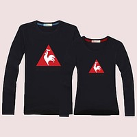Le Coq Sportif  Women Men Lover Casual Long Sleeve Top Sweater Pullover