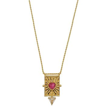 Aiko Sacred Heart Necklace