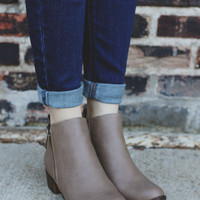 Blair Booties - Taupe