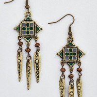 Boho Alluring Adornment Earrings by ModCloth