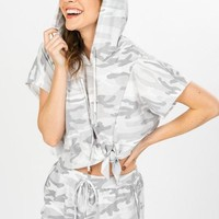 Hidden Talent Two Piece Set - Light Grey