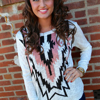 Tribal Perfection Knit {Black}