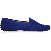 Tod's - Gommino suede loafers