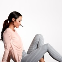 Stripe Salutation 7/8 Tight|athleta