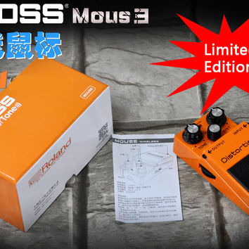 Roland BOSS Effect Pedal Wireless Mouse for Electronic Guitar and Bass Fans