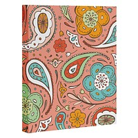 Heather Dutton Adora Paisley Art Canvas