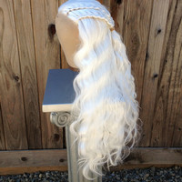 Daenerys Targaryen Game of Thones Lace Front vB Inspired Wig Hair Screen Quality Styled