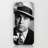 Al Capone Mug Shot iPhone & iPod Case by Neon Monsters