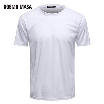 Polyester Breathable O-Neck T-Shirt For Men Short Space Jersey T Shirt Man Anime Fitness Hip Hop T-Shirts