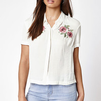Kendall & Kylie Collared Button Up Blouse at PacSun.com