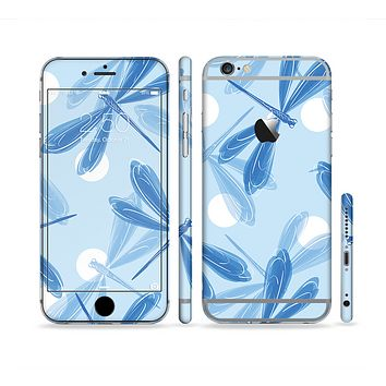 The Blue DragonFly Sectioned Skin Series for the Apple iPhone 6s