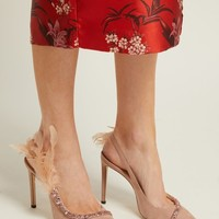 Tacey crystal-embellished suede pumps | Jimmy Choo | MATCHESFASHION.COM US