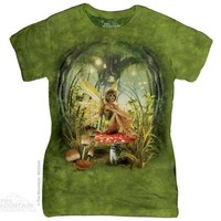 TOADSTOOL FAIRY Womens T-Shirt Forest Fantasy Gothic The Mountain Top S-2XL NEW!