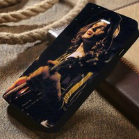 David Gilmour Pink Floyd Custom Wallet iPhone 4/4s 5 5s 5c 6 6plus 7 and Samsung Galaxy s3 s4 s5 s6 s7 case