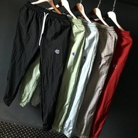 Champion classic hip hop pants for both men and women in five colors fast dry ultra-thin casual, solid color retractable underpants