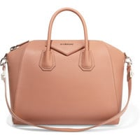 Givenchy - Medium Antigona bag in antique-rose textured-leather