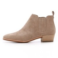 Shaw Flat Suede Booties