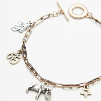 Free People Delicate Charm Anklet
