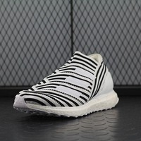 Adidas Boost UB 3.5 Nemeziz 17+ 360 Agility Ultraboost Women Men Fashion Trending Running Sneakers Black